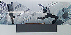 zoom internal sign display