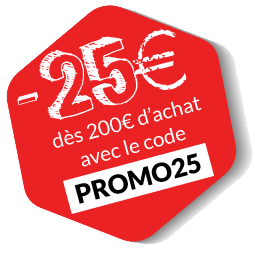 -25€ avec le code PROMO25