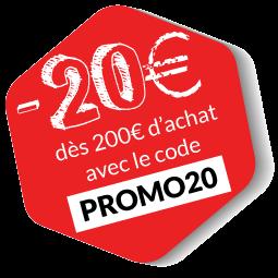 -20€ avec le code PROMO20