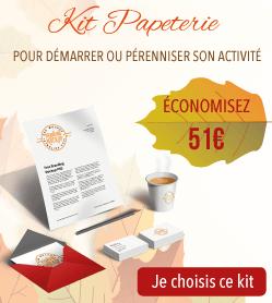 51€ d'économies sur votre kit papeterie