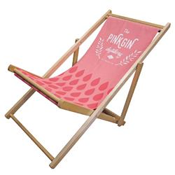 chaise longue publicitaire