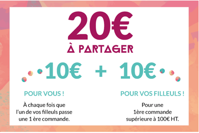 20€ à partager