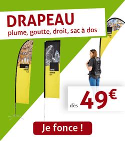 Drapeau dès 49€