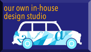 Our own in-house design studio