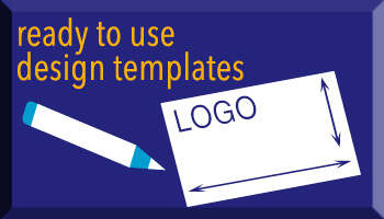 Ready to use design templates