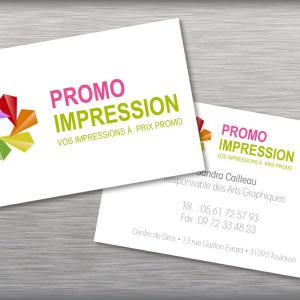 Cartes de visite Grand format Express