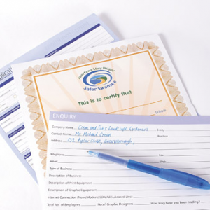 100gsm Business/Application Forms