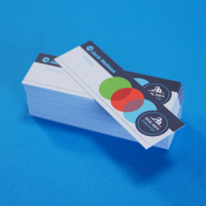 400gsm Matt Lam Mini Business Cards