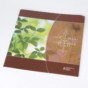 Brochures carré moyen : 100g recyclé