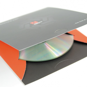 Pochettes carton pour CD