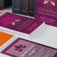 Carton d'invitation Recyclé