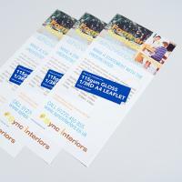 115gsm Gloss Leaflets