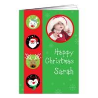 300gsm Trucard Christmas Card (A5 + insert)