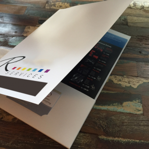 Digital Laminated Presentation Folders
