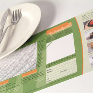 160gsm Recycled Place Mats