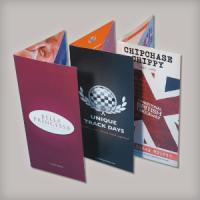 Medium weight card: Glossy + folded