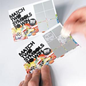 240gsm Scratch Cards