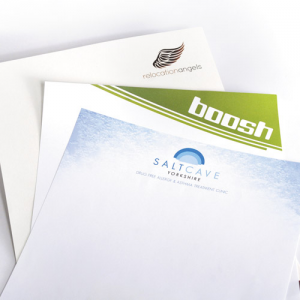 Stationery: Bright white smooth