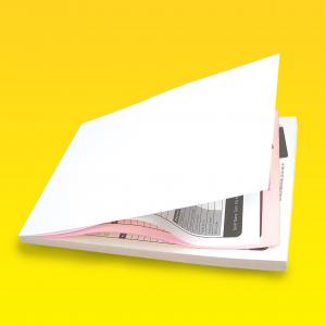 Full Colour 2 Part Carbonless NCR Pads