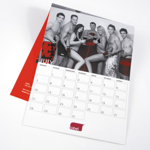 100gsm Recycled 14 Mth Calendars : 1 Page Per Mth