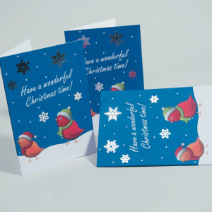 Opuleaf Foil Christmas Cards