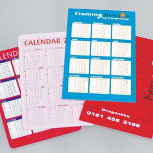 400gsm Folding Pocket Calendars