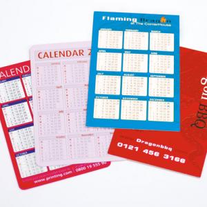 Budget Pocket Calendars