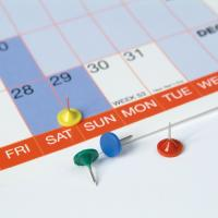 250gsm Gloss Laminated Wallplanners