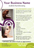 Beauty Salon A6 Leaflets - Front