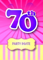 Birthday Party A5 Leaflets - Front