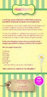 Garden Maintenance 1/3rd A4 Leaflets - Back