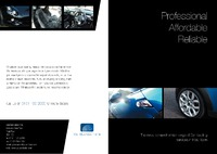 Car Dealers A4 Folded Leaflets - Front
